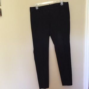 Limited size 8 'Exact Stretch' black ankle pants